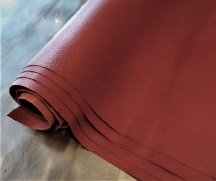Brown membrane leather